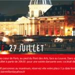 Annonce soirée, 27 Juillet